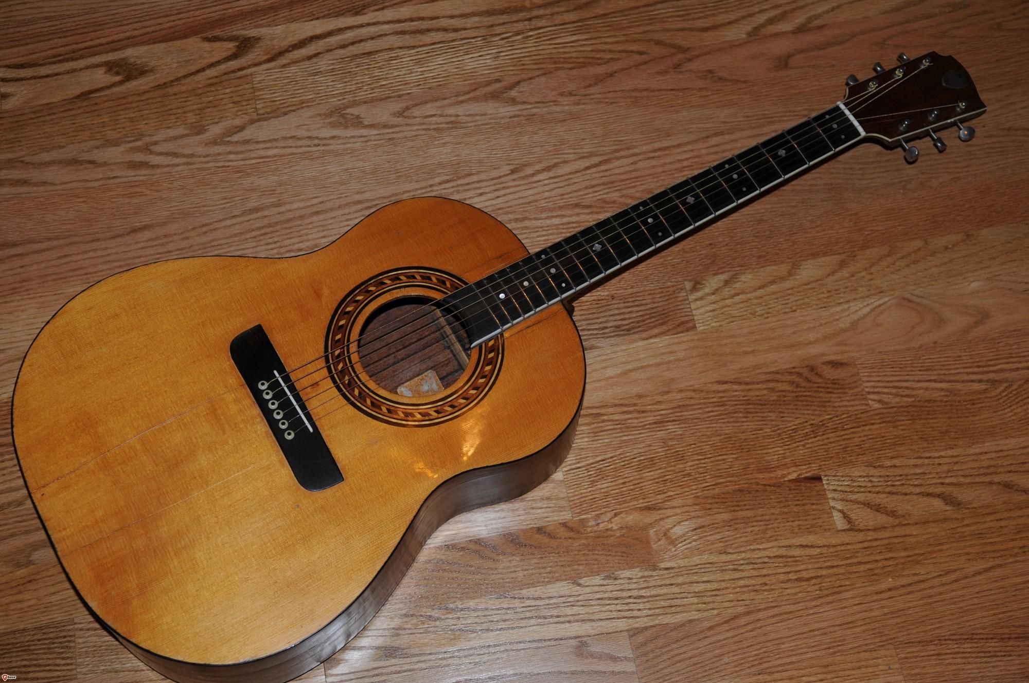 1960 Tony zemaitis Acoustic