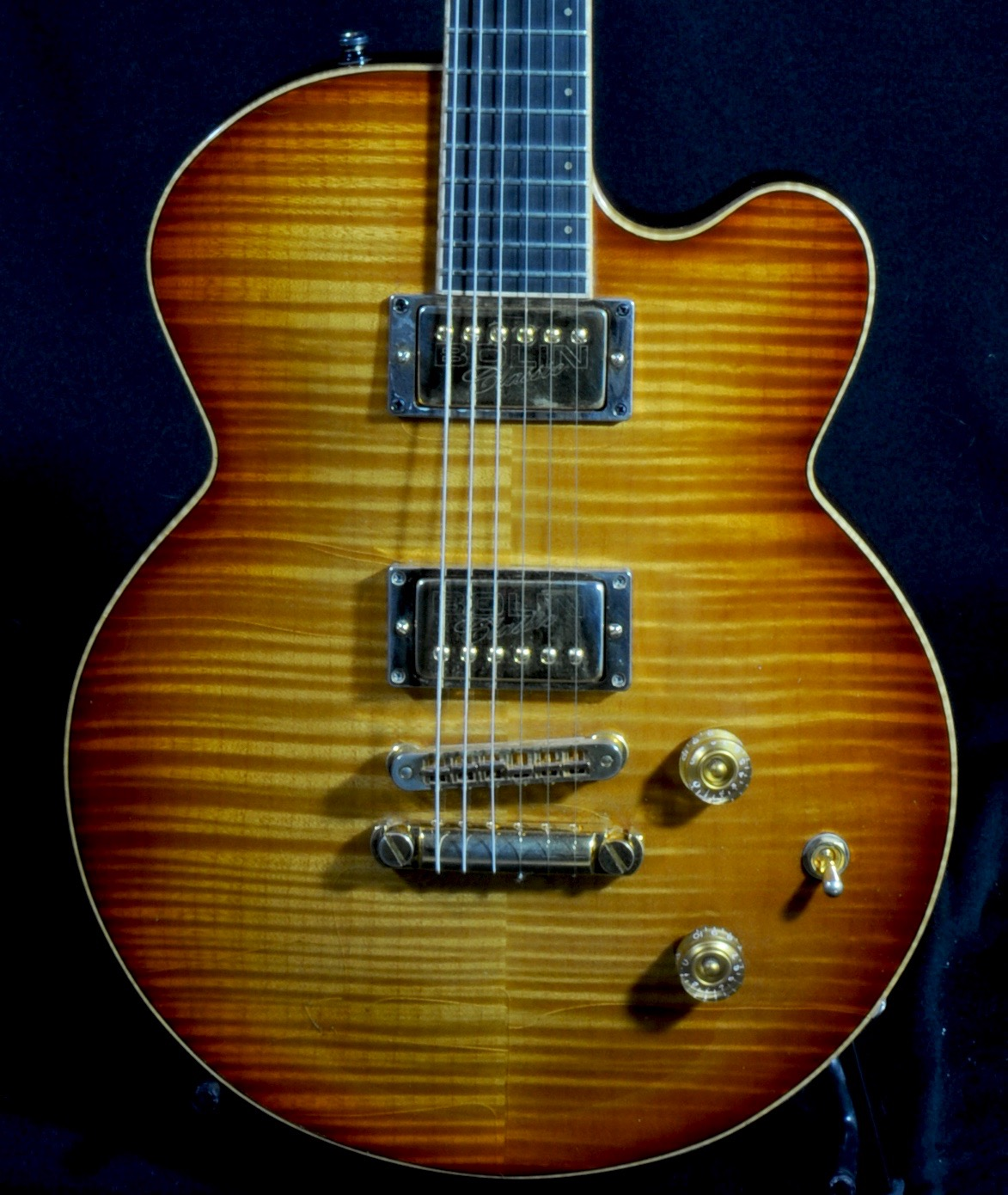 BOLIN Classic Hollow   Carved Top & Back 1-Off