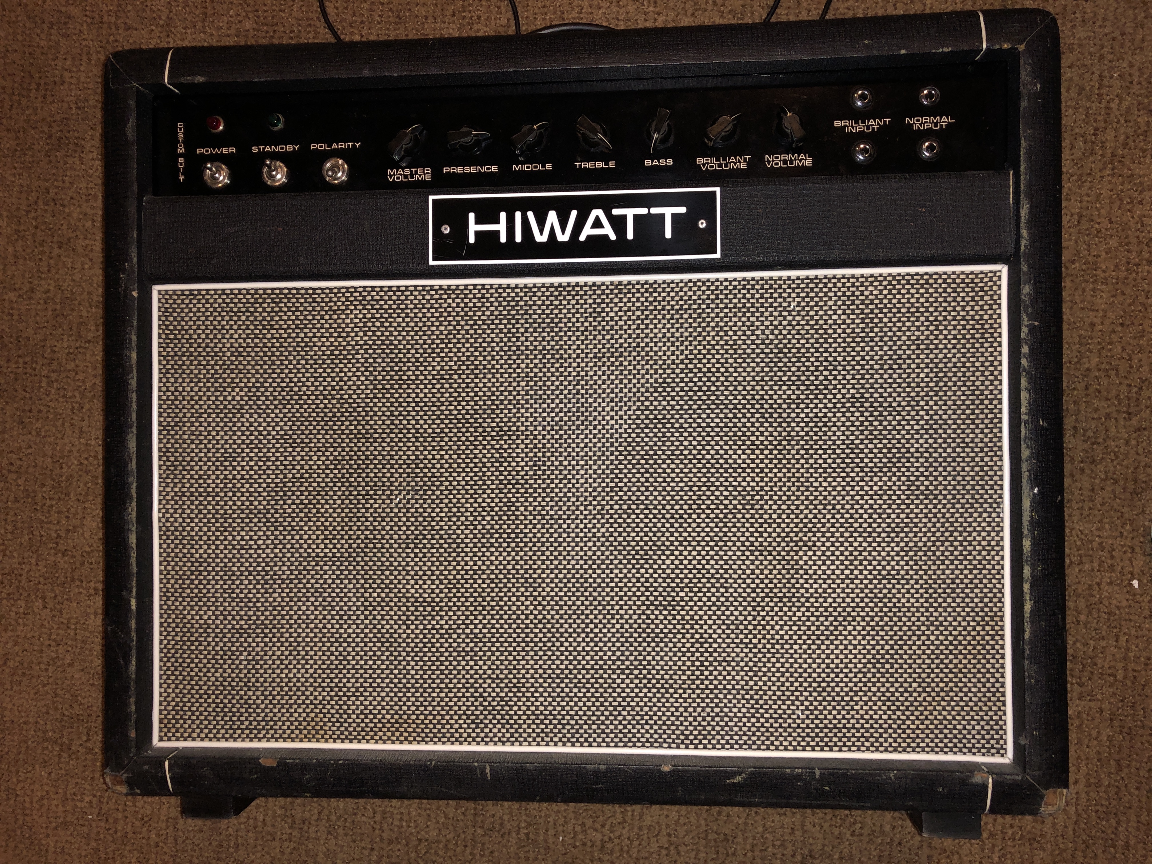 1972 Hiwatt 50w 212 – Partridge Transformers!