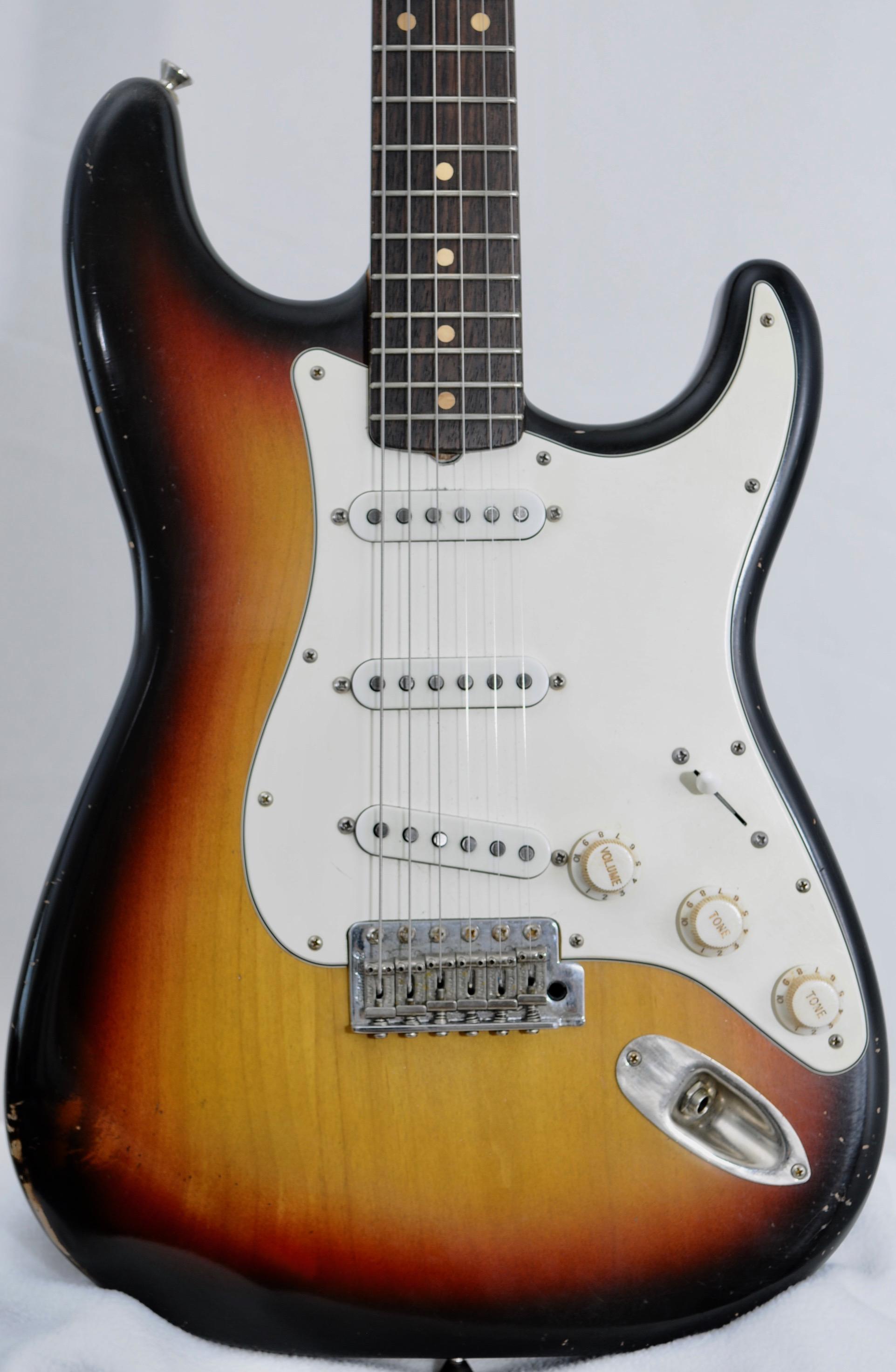 Mario Martin Stratocaster – WOW Neck – Cert/Build Sheet/Case Included