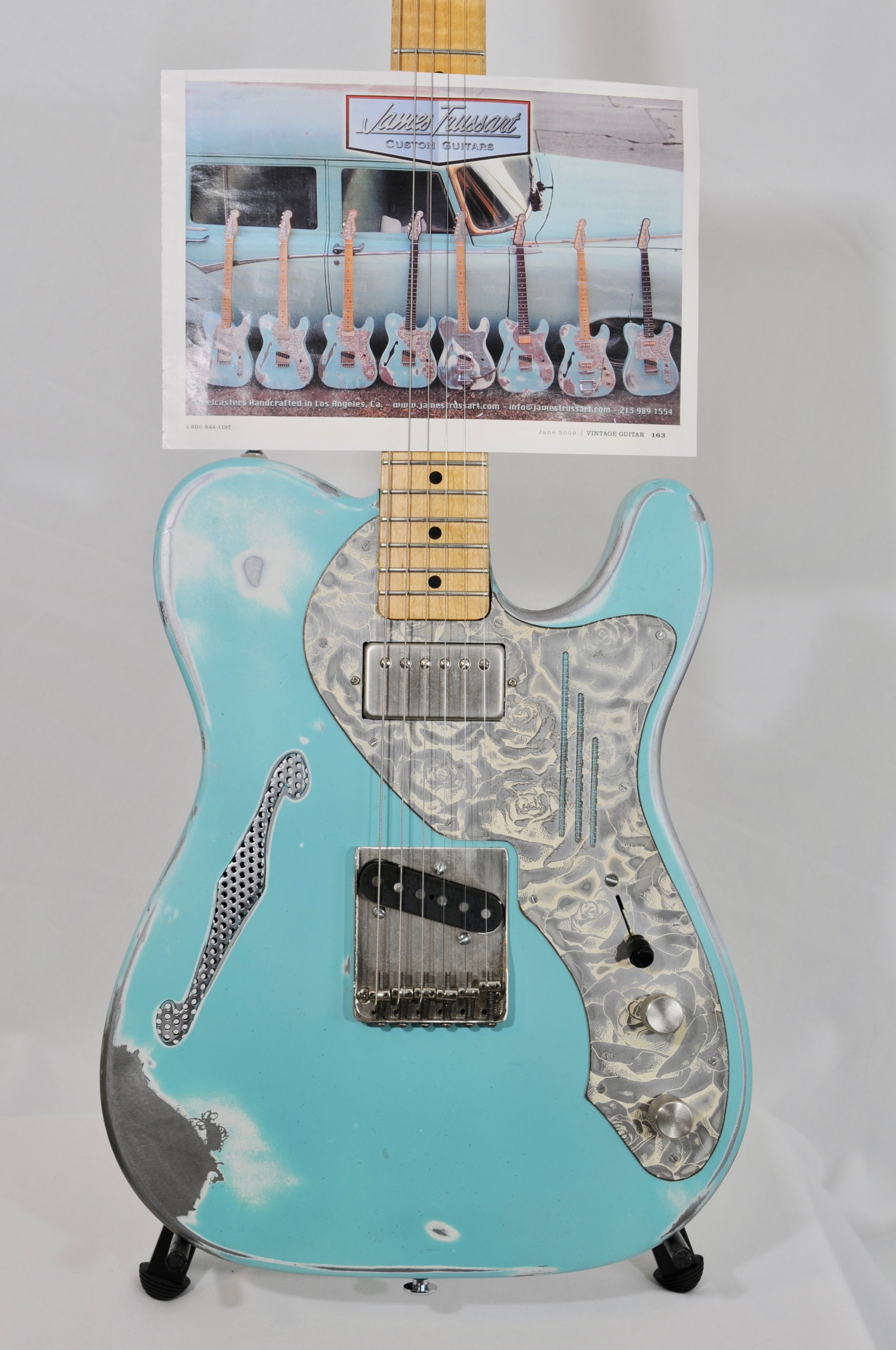 James Trussart Steelcaster Deluxe – USED IN PROMOTIONAL ADVERTISEMENT!