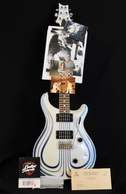 1984 PRS Pre-Factory Metal Prototype #1 – Documented & Celeb Owned!
