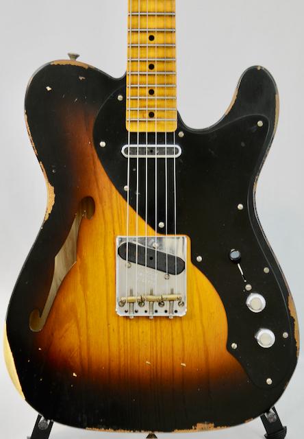 2019 Fender Custom Shop LTD Thinline Loaded Relic Nocaster  5lb-13oz