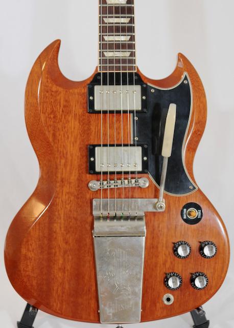 2003 Gibson Custom Shop GARY ROSSINGTON SG – Murphy Aged!  Ltd Edition