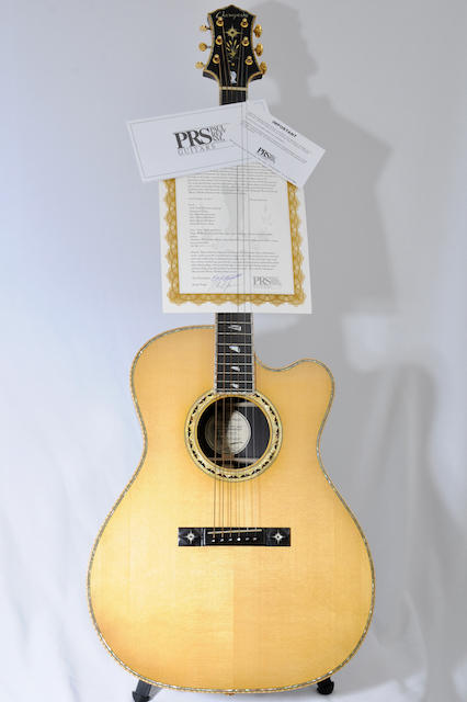 PRS Private Stock Chesapeake Patuxent ACOUSTIC – African Blackwood & Adirondack Red Spruce